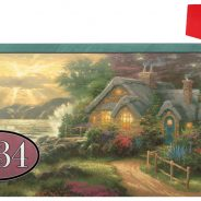 Thomas Kinkade Studios personalized Mailbox Covers- A New Day Dawning From Flagology