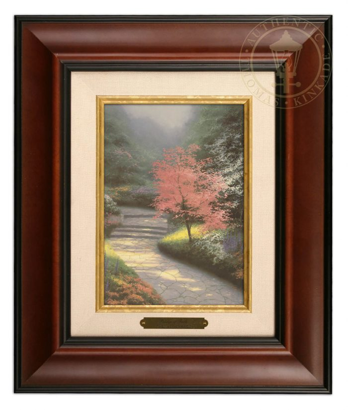 Afternoon Light, Dogwood – 10.5″ x 12.5″ Brushworks (Brushworks Burl Frame)