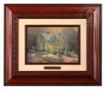 Blessings of Christmas – 10.5″ x 12.5″ Brushworks (Brushworks Brandy Frame)