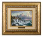 Conquering the Storms – 10.5″ x 12.5″ Brushworks (Brushworks Gold Frame)