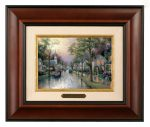 Hometown Morning – 10.5″ x 12.5″ Brushworks (Brushworks Burl Frame)