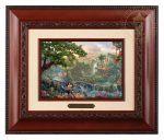 The Jungle Book – 10.5″ x 12.5″ Brushworks (Brushworks Brandy Frame)