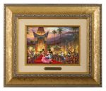 Mickey and Minnie in Hollywood – 10.5″ x 12.5″ Brushworks (Brushworks Gold Frame)