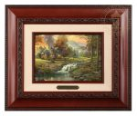 Mountain Retreat – 10.5″ x 12.5″ Brushworks (Brushworks Brandy Frame)