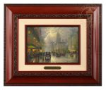 New York, Fifth Avenue – 10.5″ x 12.5″ Brushworks (Brushworks Brandy Frame)