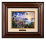 Pinocchio Wishes Upon a Star – 10.5″ x 12.5″ Brushworks (Brushworks Burl Frame)