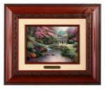 Pools of Serenity – 10.5″ x 12.5″ Brushworks (Brushworks Brandy Frame)