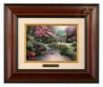 Pools of Serenity – 10.5″ x 12.5″ Brushworks (Brushworks Burl Frame)