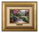 Pools of Serenity – 10.5″ x 12.5″ Brushworks (Brushworks Gold Frame)