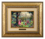 Sleeping Beauty – 10.5″ x 12.5″ Brushworks (Brushworks Gold Frame)