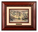 St. Nicholas Circle – 10.5″ x 12.5″ Brushworks (Brushworks Brandy Frame)