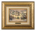 St. Nicholas Circle – 10.5″ x 12.5″ Brushworks (Brushworks Gold Frame)