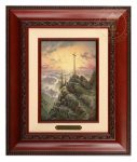 Sunrise – 10.5″ x 12.5″ Brushworks (Brushworks Brandy Frame)