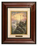 Sunrise – 10.5″ x 12.5″ Brushworks (Brushworks Burl Frame)