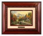 The Valley of Peace – 10.5″ x 12.5″ Brushworks (Brushworks Brandy Frame)
