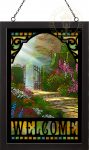 Garden of Grace – 20″ x 14″ Stained Glass Art