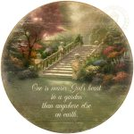 Nearer God's Heart – 21″ Wood Sign
