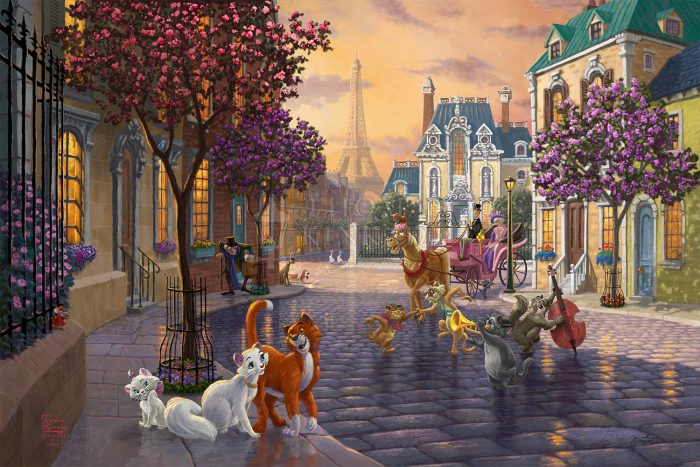 Disney The Aristocats – Limited Edition Canvas