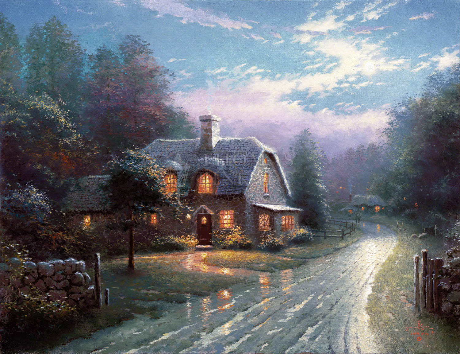 Swell Moonlight Lane Limited Edition Art Home Interior And Landscaping Ologienasavecom