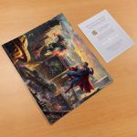 Superman – Man of Steel – 11″ x 14″ Art Print