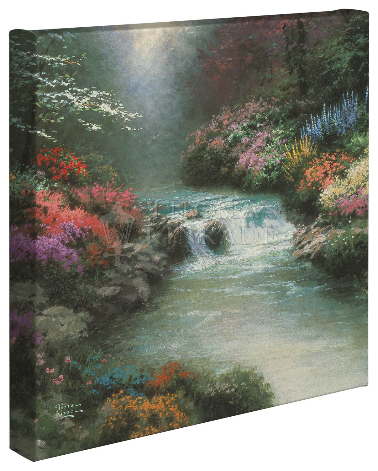 Beside Still Waters – 14″ x 14″ Gallery Wrapped Canvas