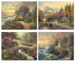 Faith and Peace – 11″ x 14″ Art Prints (set of four)