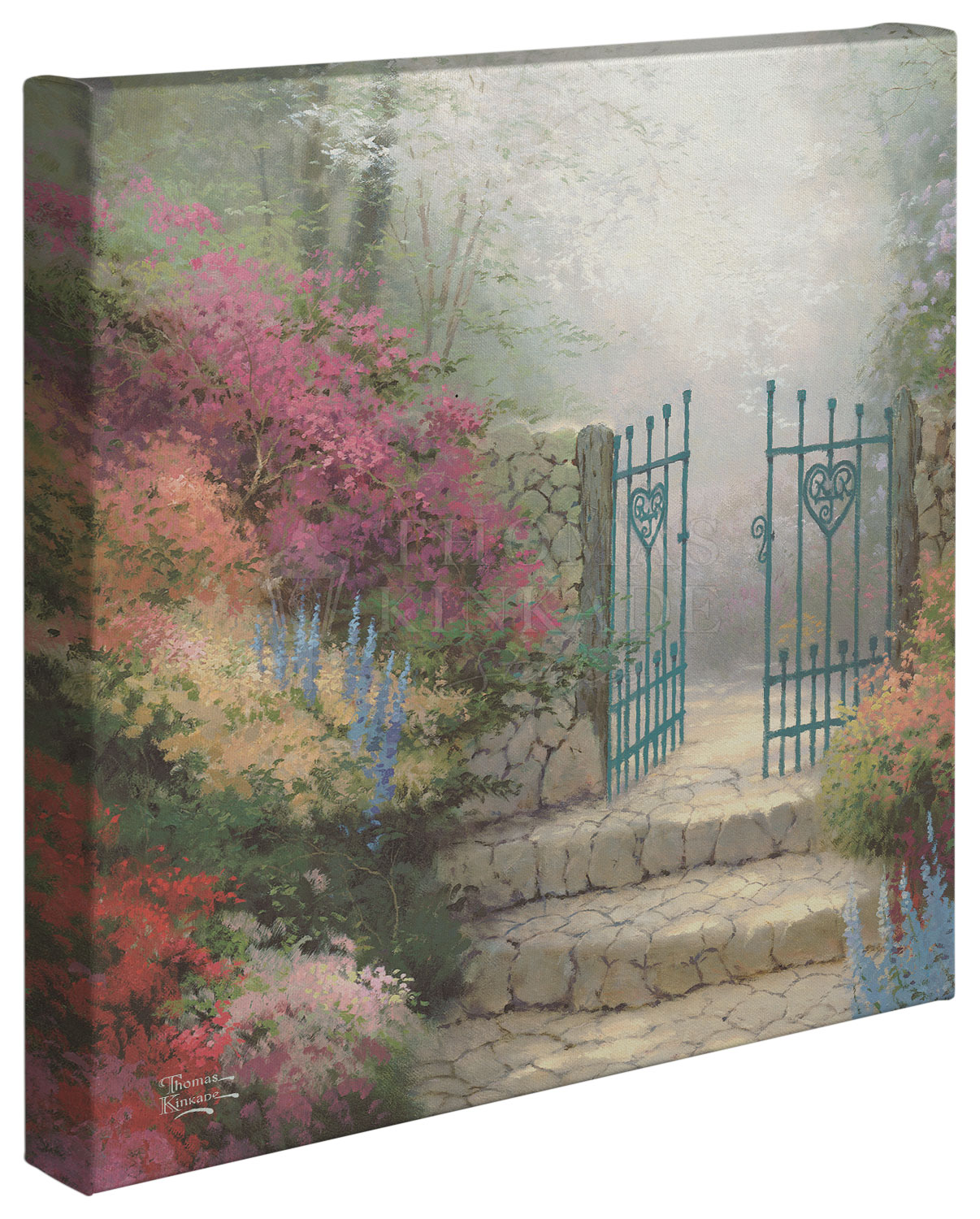 The Garden of Promise – 14″ x 14″ Gallery Wrapped Canvas