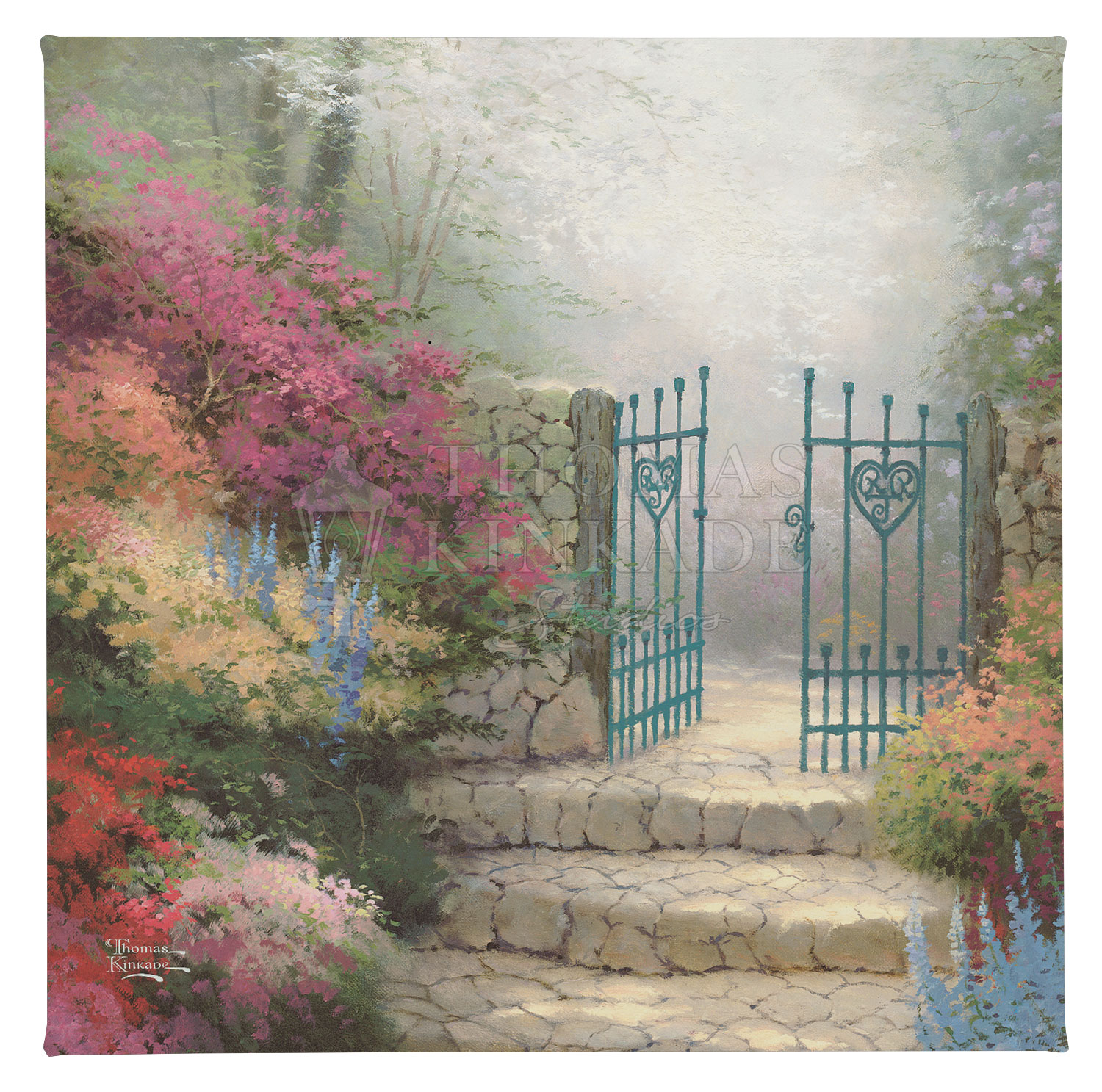 "The Garden of Promise - 14"" x 14"" Gallery Wrapped Canvas"