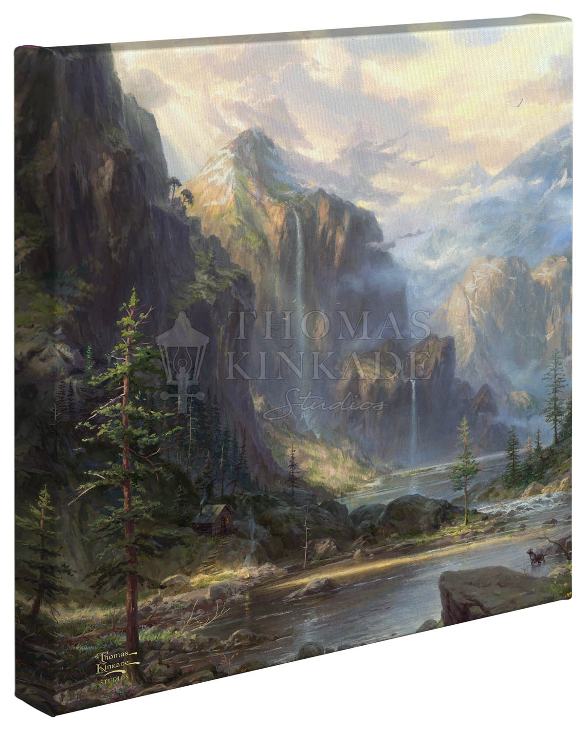 High Country Wilderness – 14″ x 14″ Gallery Wrapped Canvas