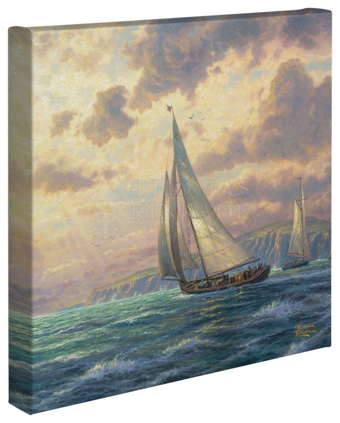New Horizons – 14″ x 14″ Gallery Wrapped Canvas
