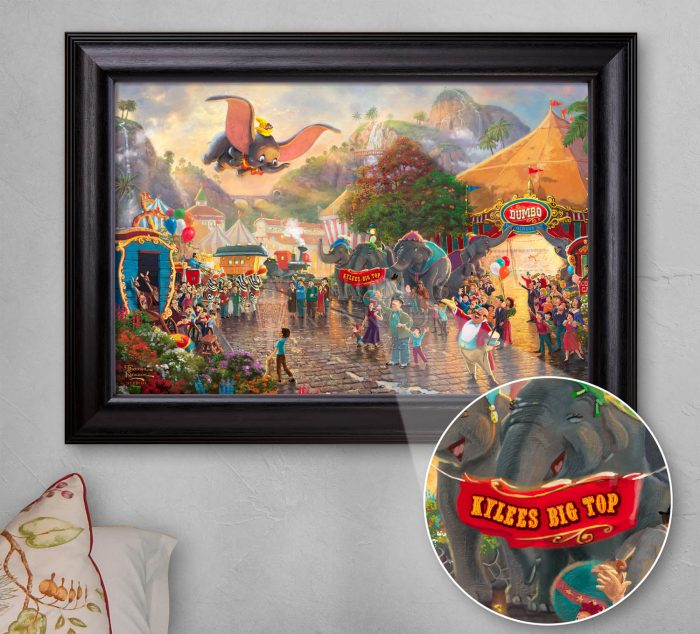 Disney Dumbo – Personalized Canvas