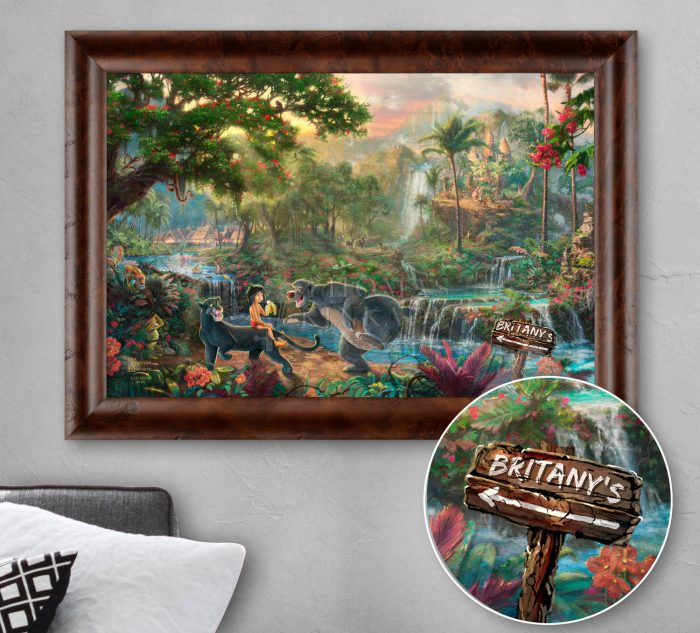 Jungle Book – Personalized Canvas