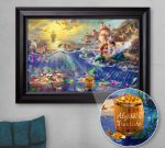 The Little Mermaid – Personalized Canvas