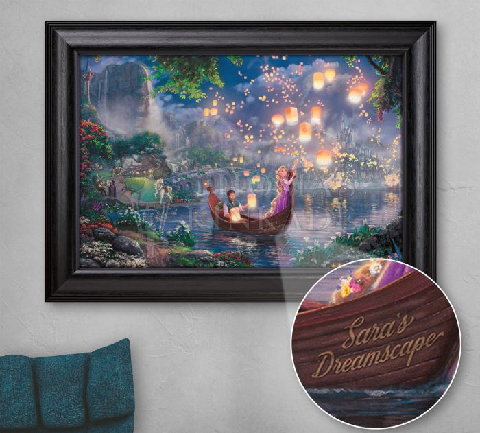 Tangled – Personalized Canvas