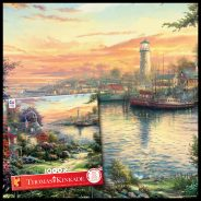 1000 Piece Puzzle featuring National Lighthouse Day from Ceaco