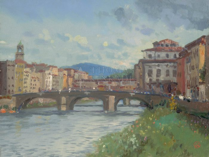 Florence, River Alba – Limited Edition Canvas