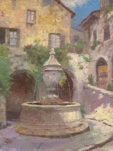 Tuscan Village Fountain