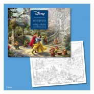 AMU Thomas Kinkade Studios Disney Princess Coloring Book