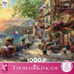 1000 Piece Puzzle featuring French Riviera Café Puzzle from Ceaco