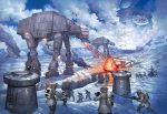 Battle of Hoth, The – Limited Edition Canvas