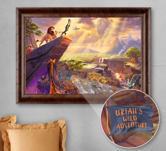 Disney – The Lion King – Personalized Canvas
