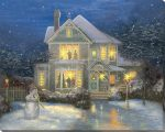 Holiday Cheer – 16″ x 20″ Lighted Wrapped Canvas