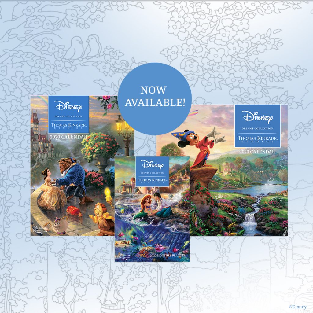 Andrews McMeel Universal – Disney Dreams Collection by Thomas Kinkade Studios 2020 Calendars