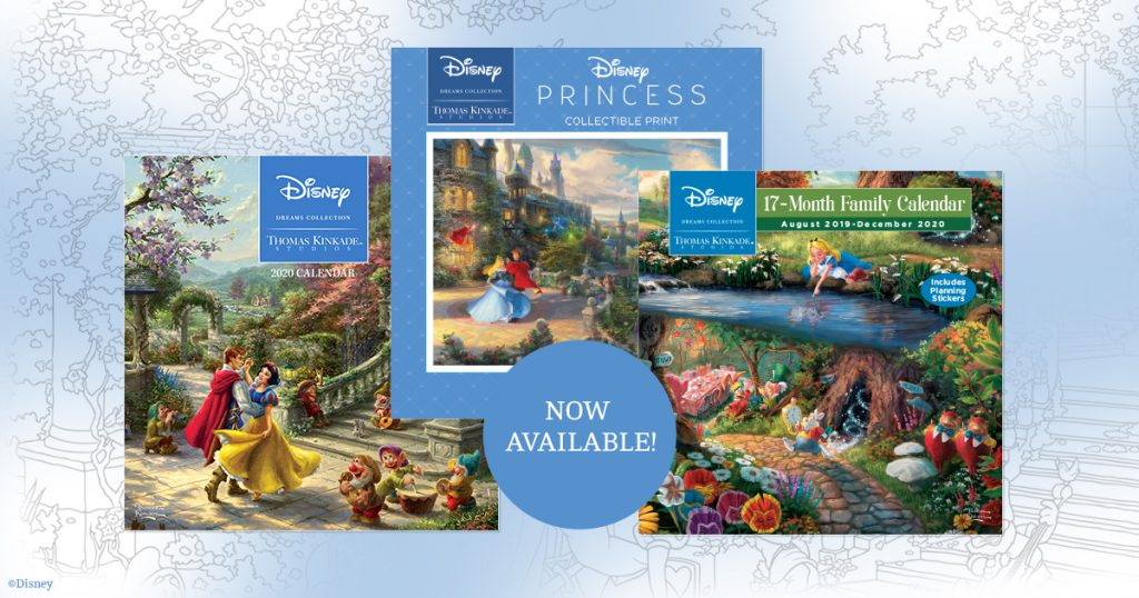Andrews McMeel – Disney Dreams Collection by Thomas Kinkade Studios 2020 Calendars