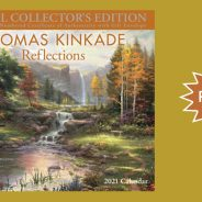 Thomas Kinkade Studios 2021 Calendar from Andrews Mcmeel