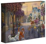 Disney The Aristocats – 8″ x 10″ – Aristocats – Gallery Wrapped Canvas