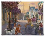 "Aristocats - 8"" x 10"" - Aristocats - Gallery Wrapped Canvas"