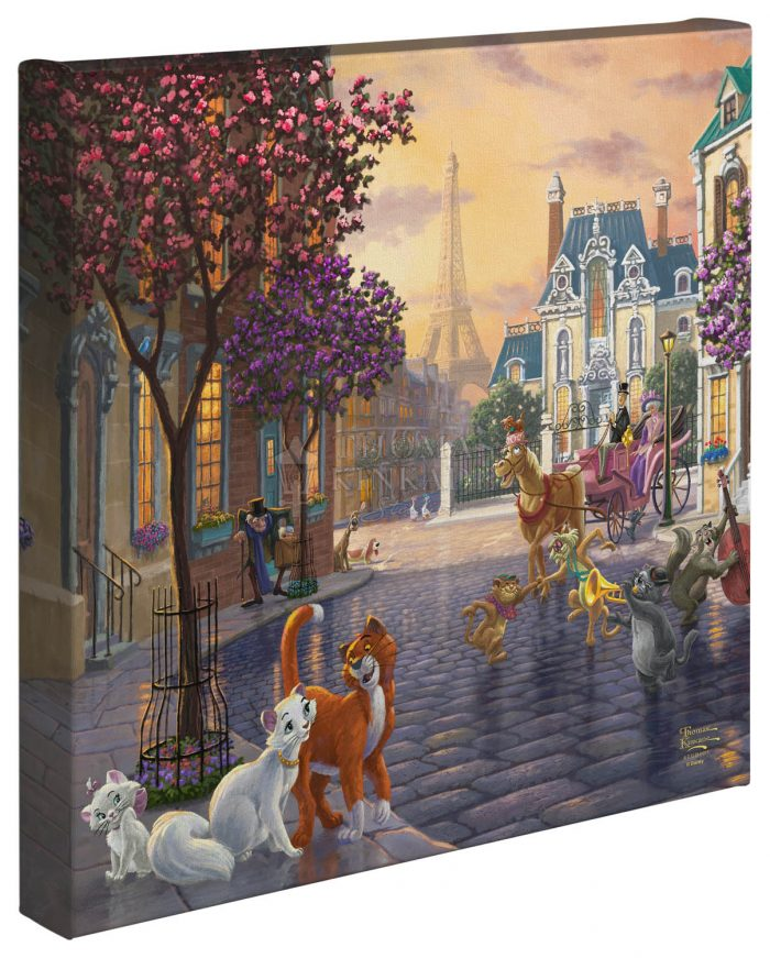 Aristocats – 14″ x 14″  – Gallery Wrapped Canvas