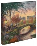 Autumn in New York – 14″ x 14″ – Gallery Wrapped Canvas