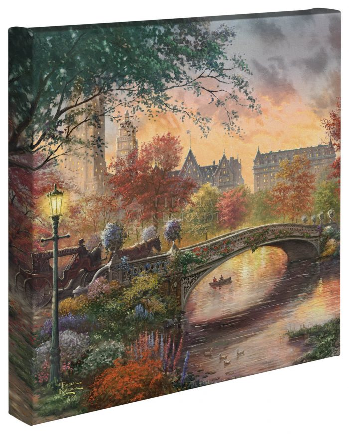 Autumn in New York – 14″ x 14″ – Gallery Wrap Canvas